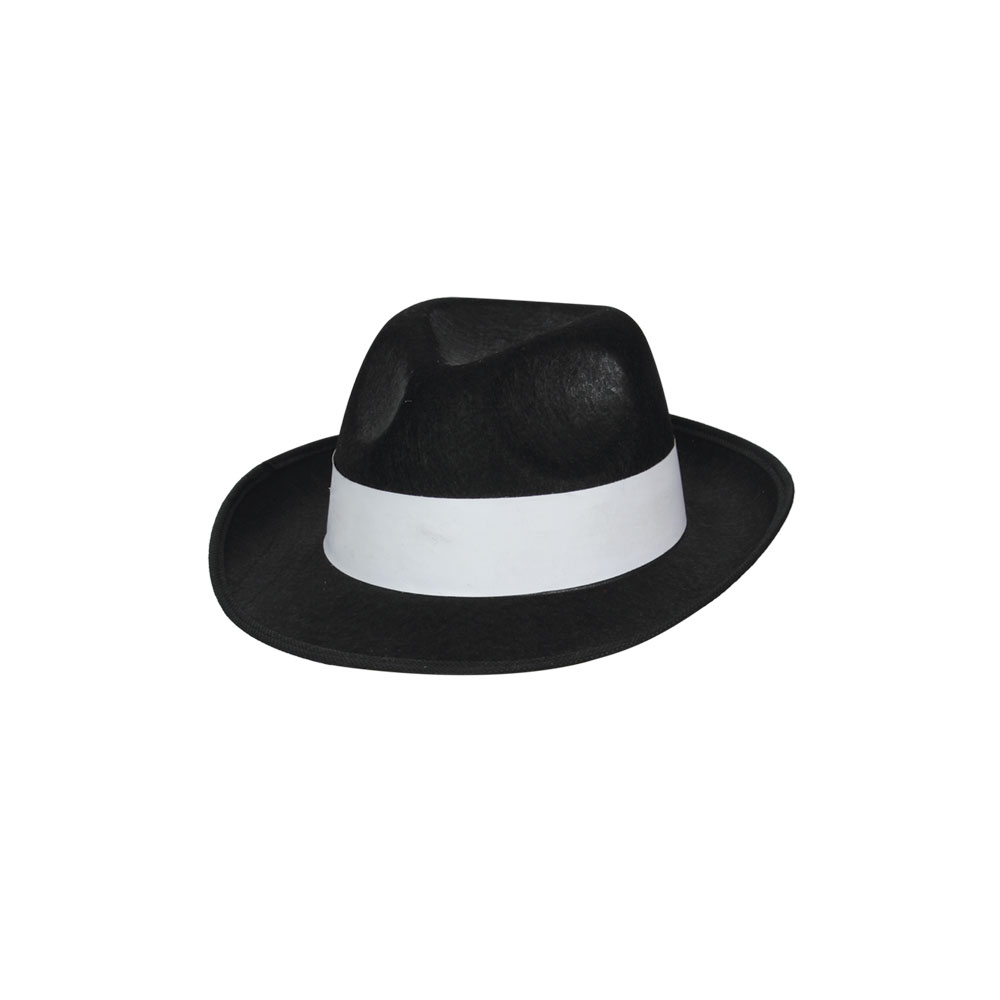 6ddb40e824 Felt Gangster Hat Black